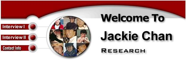 JACKIE CHAN RESEARCH PROJECT